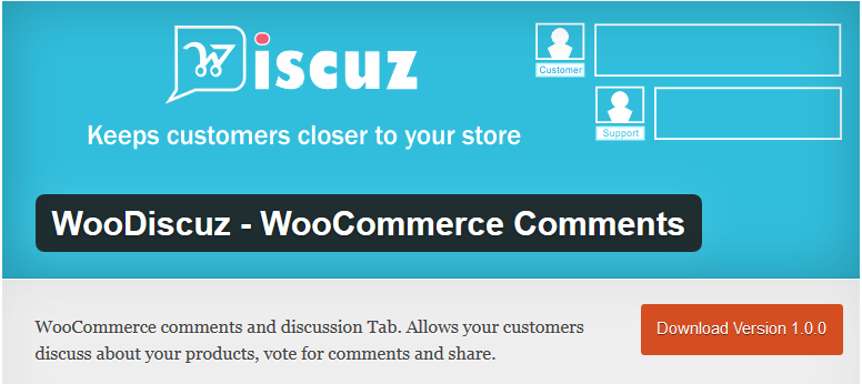 WooDiscuz-WooCommerce Comments