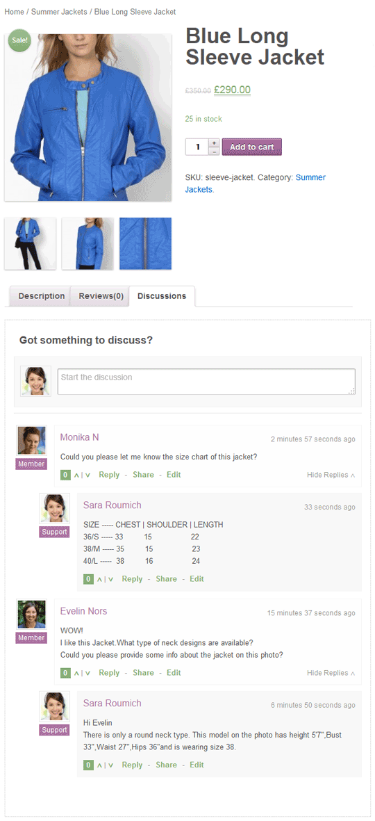 WooDiscuz - WooCommerce Product Comments